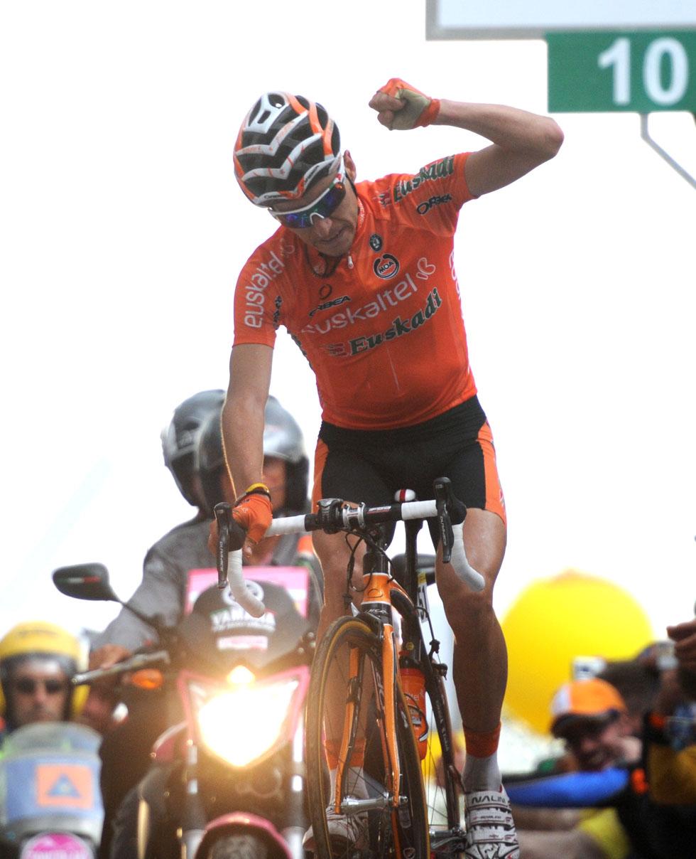 Igor Anton wins, Giro d