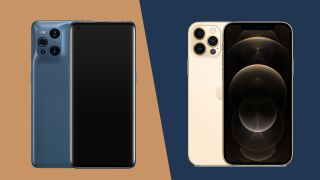 Oppo Find X3 Pro vs iPhone 12 Pro