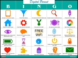 Digital Parenting BINGO