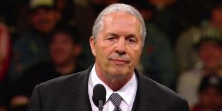 Bret Hart WWE Hall Of Fame Ceremony