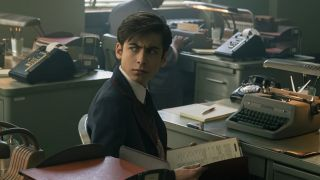 Aidan Gallagher in The Umbrella Academy