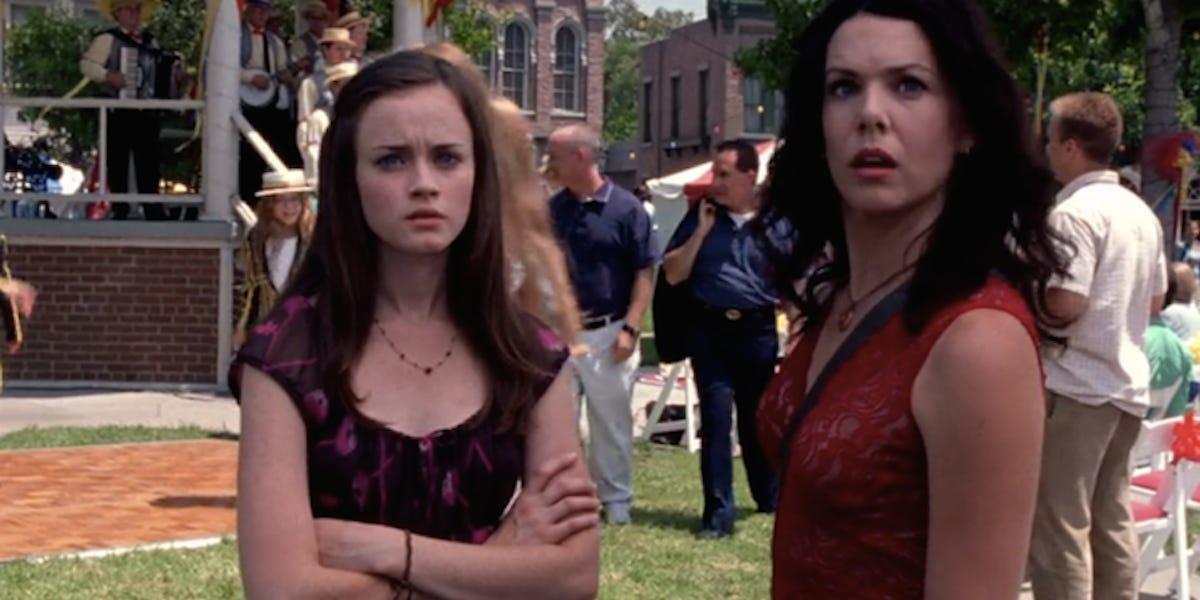 The titular Gilmore girls of Gilmore Girls.
