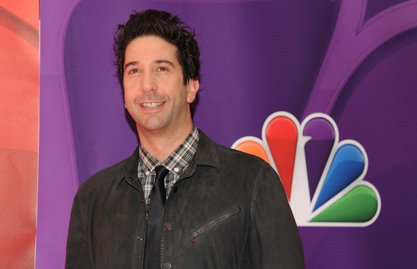 David Schwimmer attends the NBC Network 2013 Upfront at Radio City Music Hall in New York