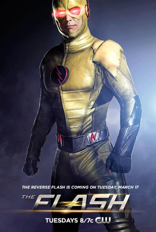 can we admit reverse flash has a cooler costume than the flash