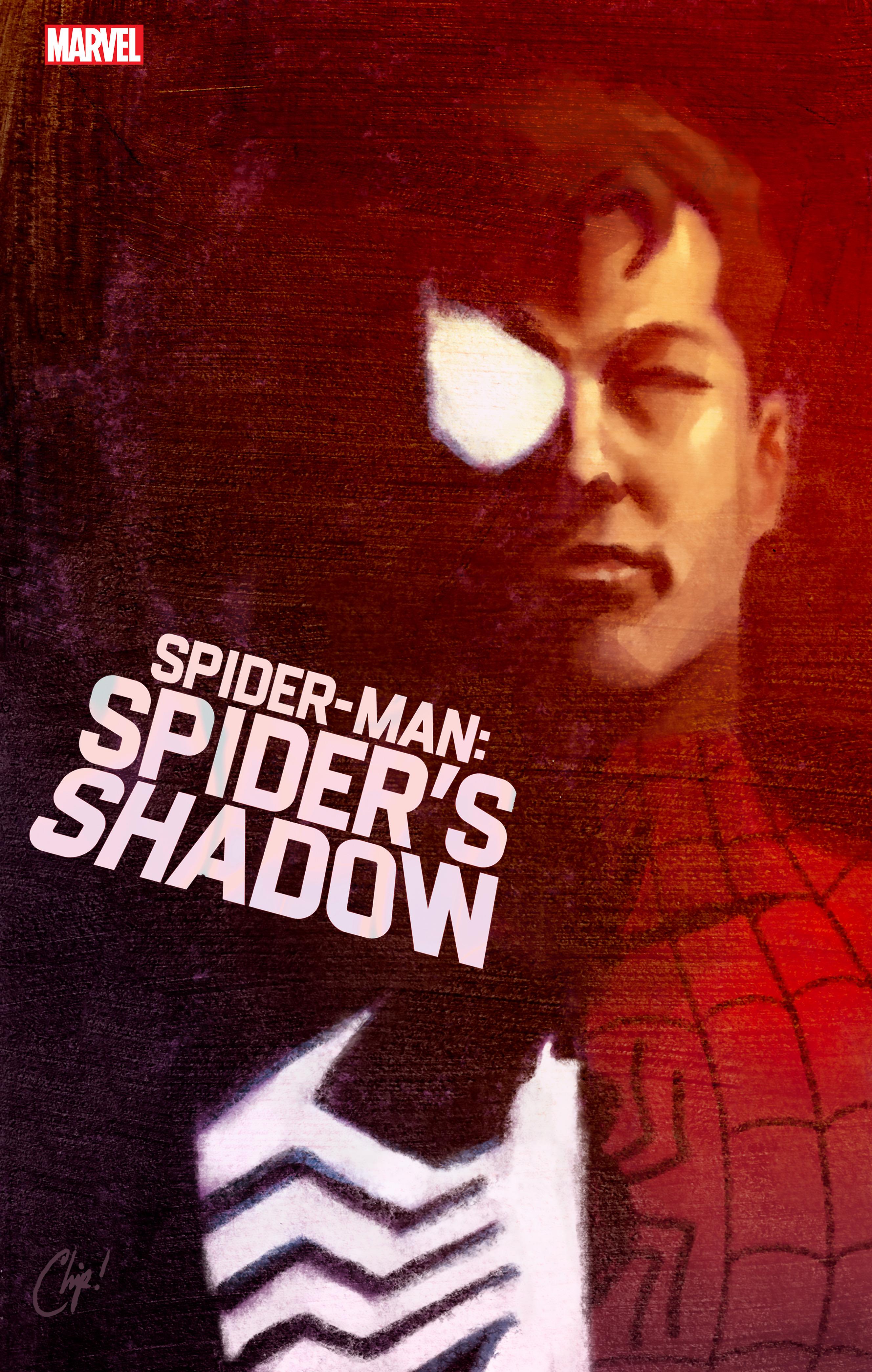 Portada variante de Spider-Man: Spider's Shadow # 1