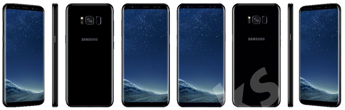 Samsung Galaxy S8 cores: todas as opções disponíveis