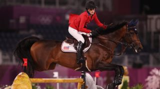 Watch Equestrian Olympics: Jessica Springsteen of Team United States riding Don Juan Van De Donkhoeve