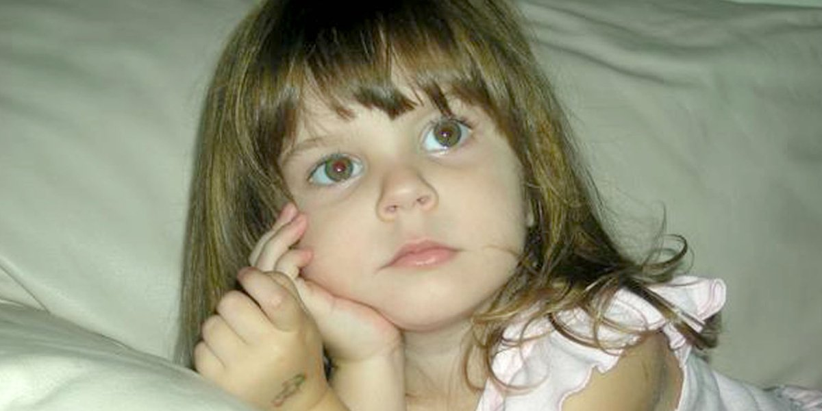 A photo of Caylee Anthony featured on The Case of Caylee Anthony
