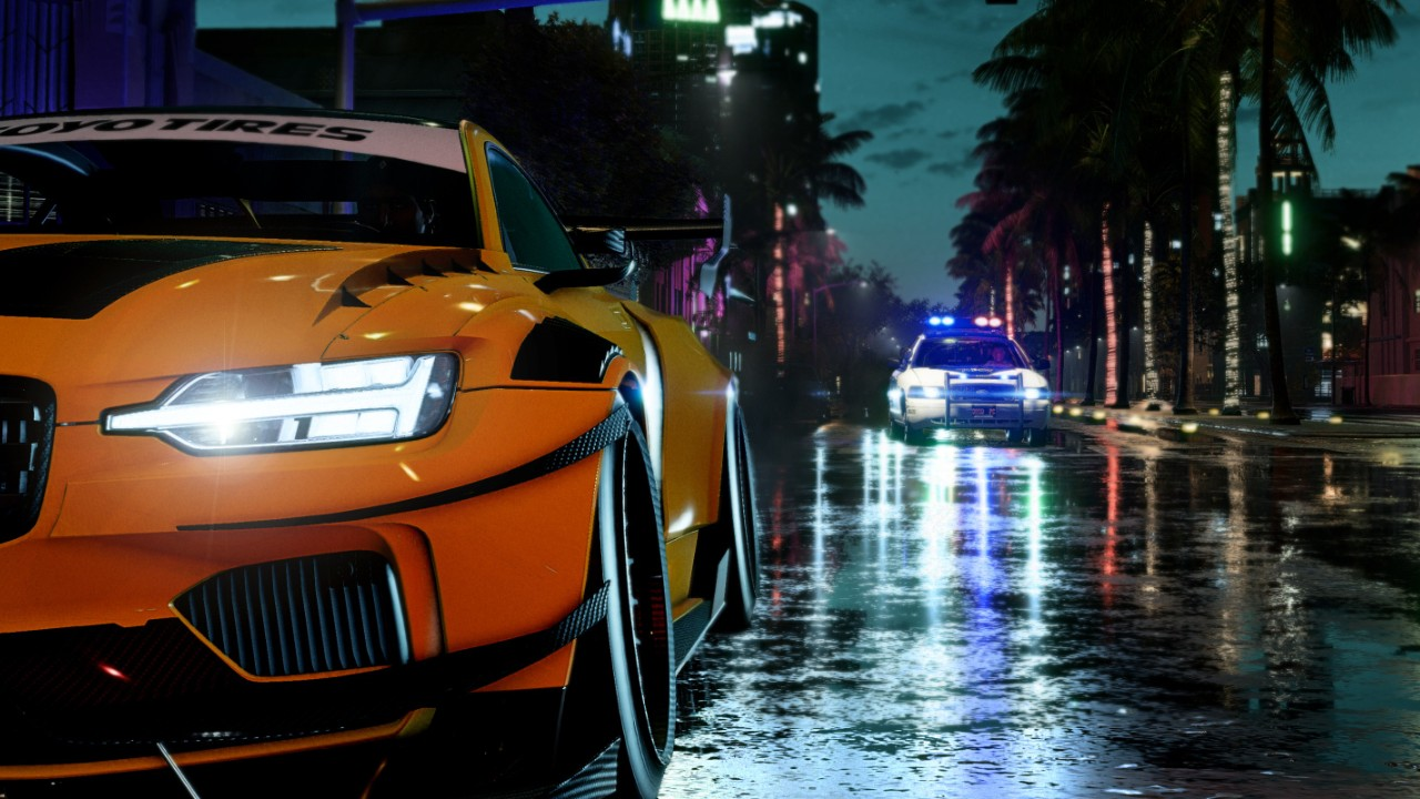 Need For Speed Heat Is Goin To Miami Well A Fictional Version