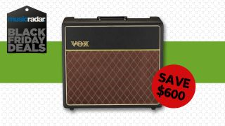Save a HUGE $600 on the Vox hand wired AC15HW1G12C tube combo with this incredible Black Friday amp deal
