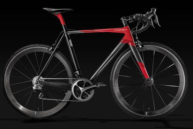 audi unveils bike that costs as much as a car cycling weekly. Black Bedroom Furniture Sets. Home Design Ideas