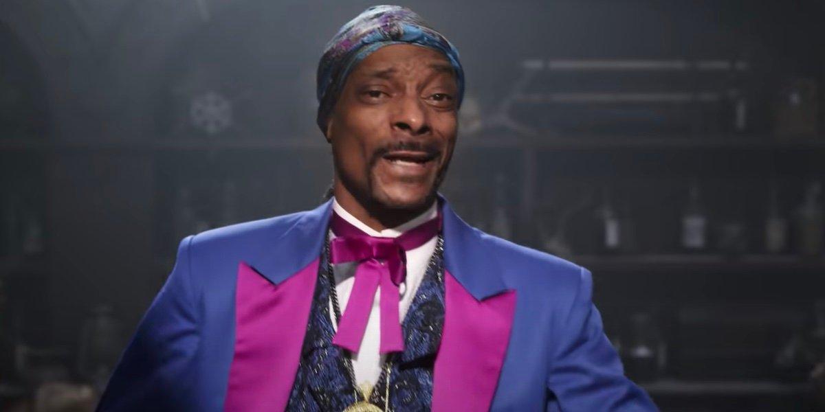 Snoop Dogg in the teaser for Spongebob Movie: Sponge On The Run