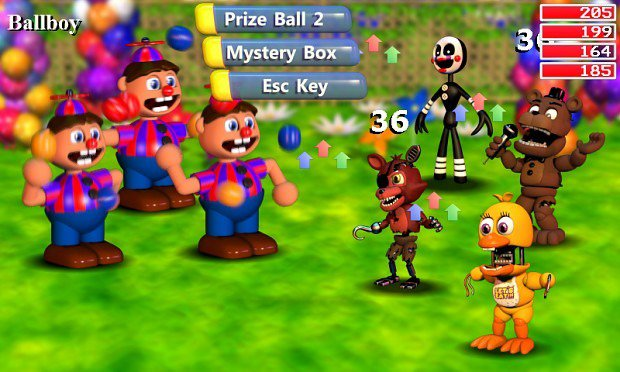Five Nights At Freddy's World Screenshots Introduce Friends And Foes  #35117