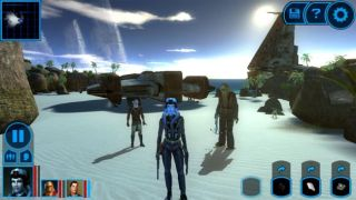 Star Wars: Knights of the Old Republic - - Best console games you can play on a phone or tablet