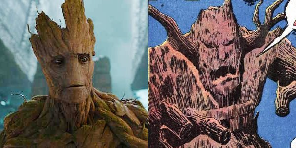 Hard to imagine Groot (Vin Diesel) as a frightening villain, right?
