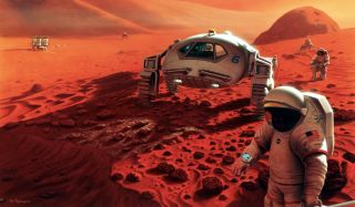 Once people get there, Mars will be contaminated with Earth life.