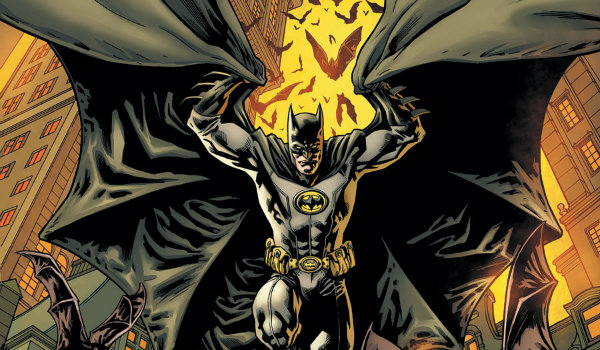 Batman Incorporated Yellow Chest Symbol Suit