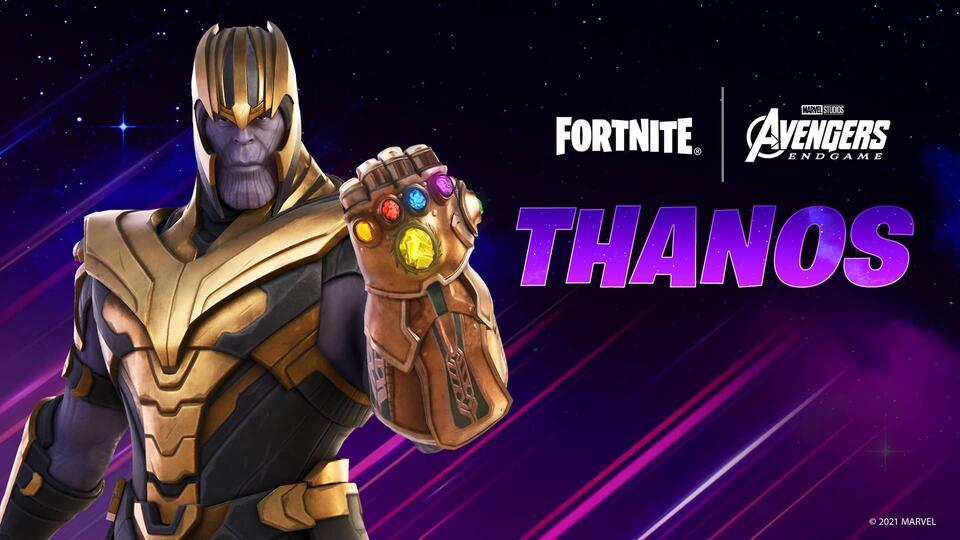 Thanos Fortnite skin