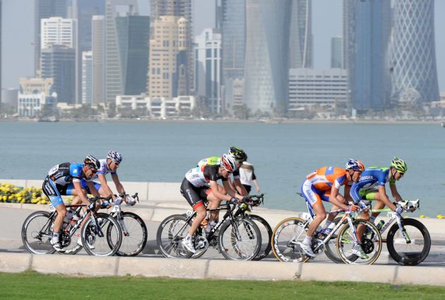Escape in Doha, Tour of Qatar 2012, stage six