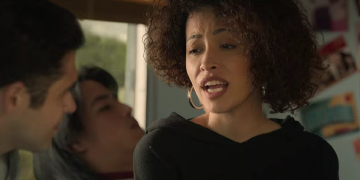 Christian Serratos and Jesse Posey in Selena: The Series