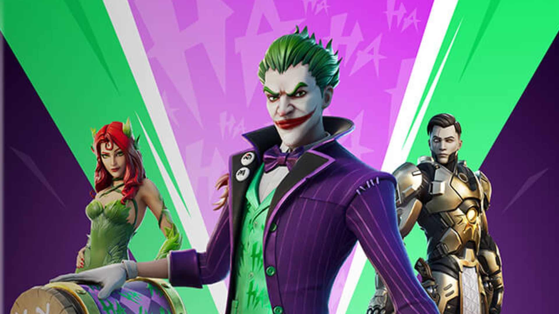 Fortnite Item Shop Joker And Poison Ivy Debut In This Holiday Bundle Pc Gamer