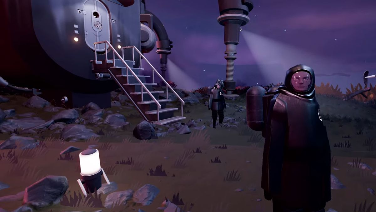 Here's the first gameplay for Superbrothers' ultra pacifist space sim Jett: The Far Shore
