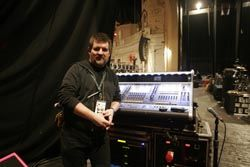 DiGiCo D5 Had Monitors All Wrapped For Pogues Christmas Tour