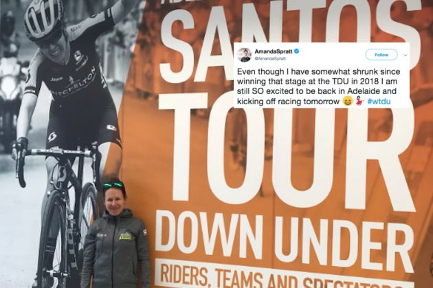 ab947de2e The best tweets from the cycling world this week (Picture  Twitter   amandapratt)