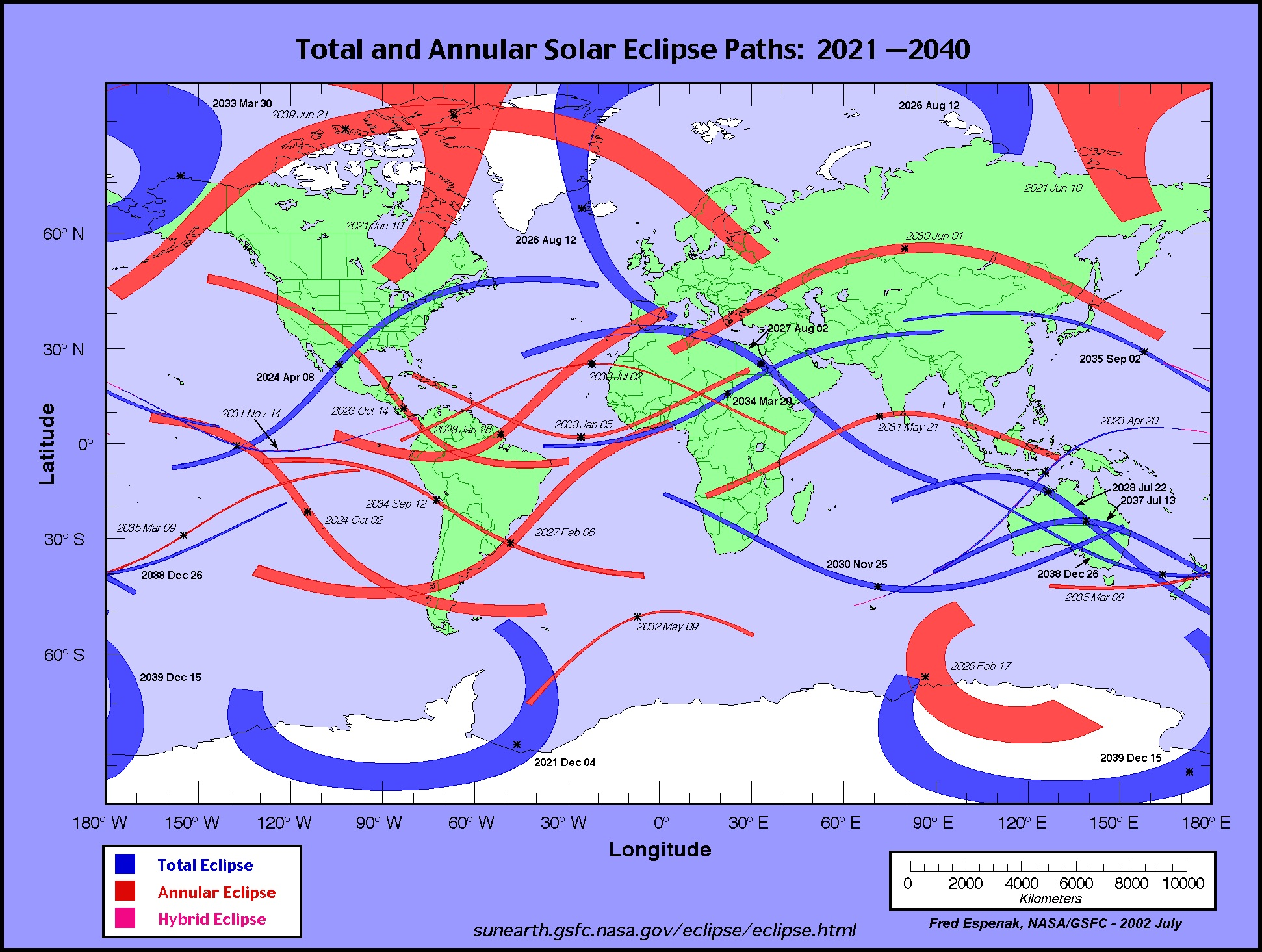 Four More Solar Eclipses Will Be Visible In The U S This Century