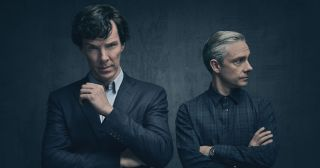 There are dark times ahead for Sherlock and Watson (C) Hartswood Films