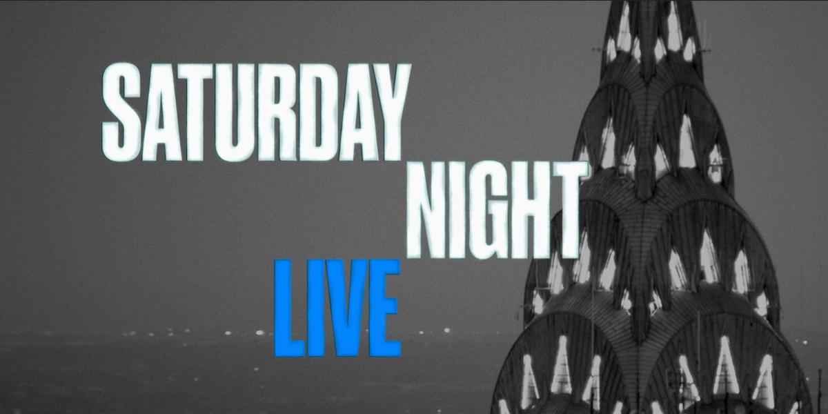 saturday night live logo nbc
