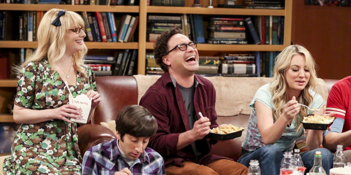 big bang theory season 12 cbs leonard laughing apartment