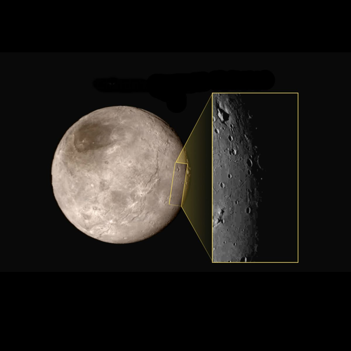 Pluto's Big Moon Charon Has a Bizarre Mountain in a Moat (Photo)