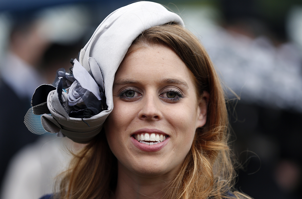 A Detailed Photo Of Princess Beatrice S Wedding Ring Has Been