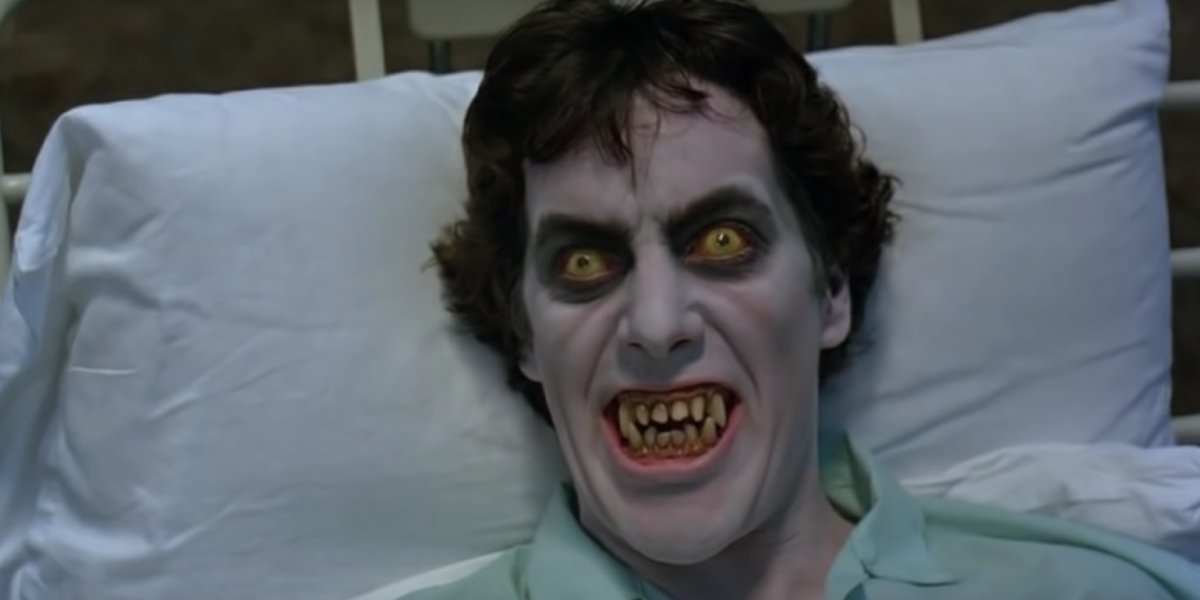 David Naughton in An American Werewolf in London