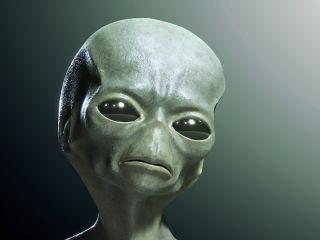 An aloof alien