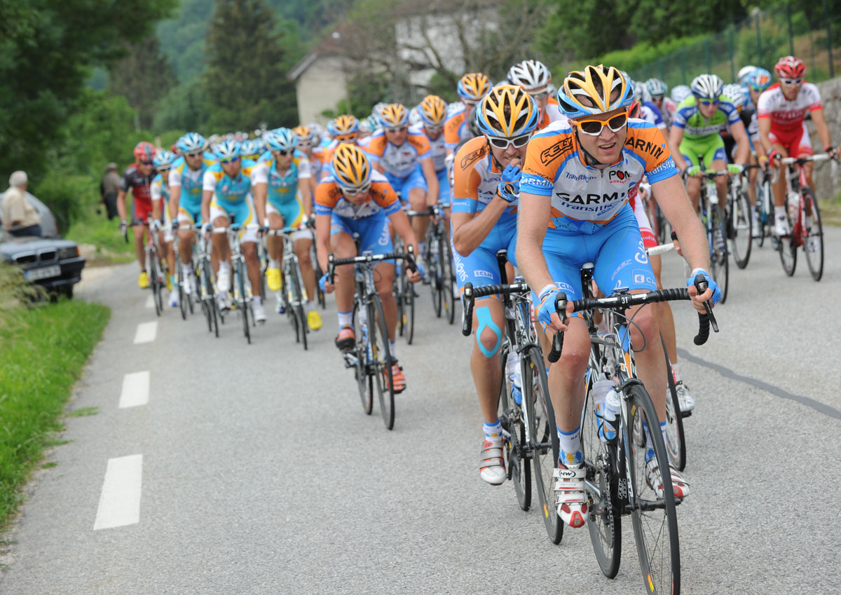 Thomas Peterson, Criterium du Dauphine 2010, stage 1
