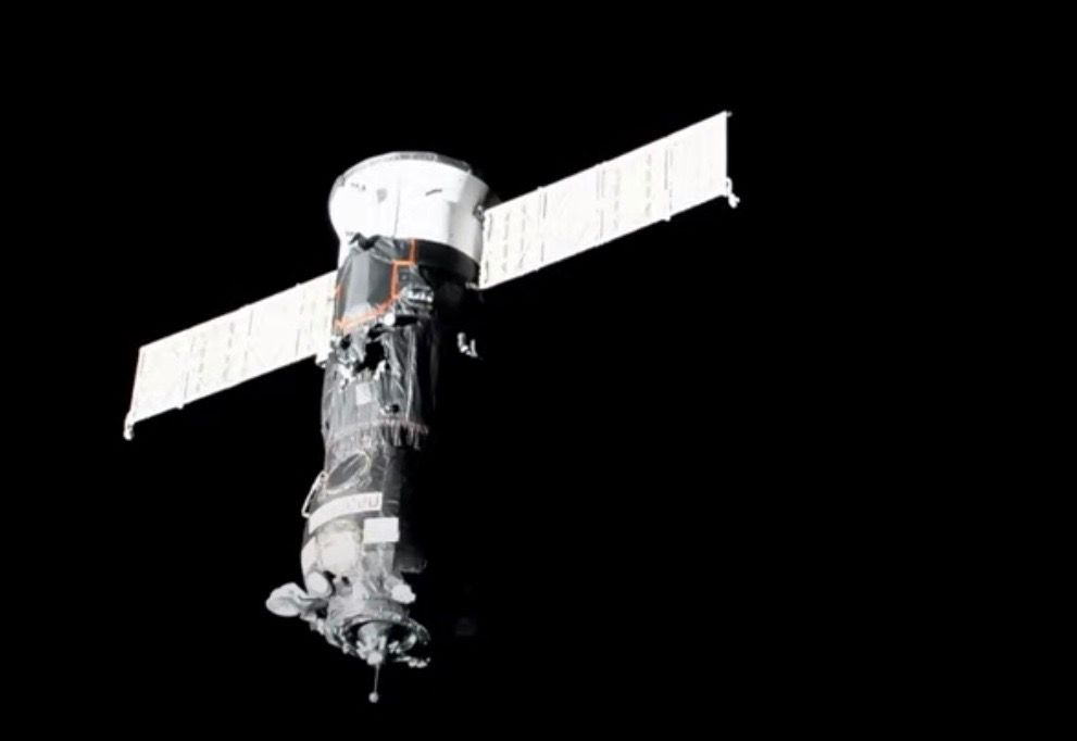 Russian Progress cargo ship docks at space station after two-day journey