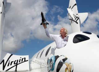 Sir Richard Branson Introduces LauncherOne