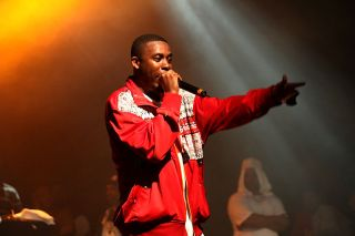 GZA performing at the Paid Dues hip hop festival at the Nokia Theatre in New York City in 2008.