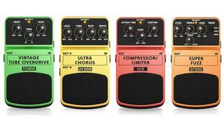 Behringer pedals