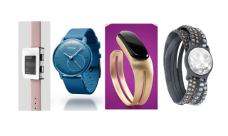 Some fitness trackers may appeal to the fashion-minded set.