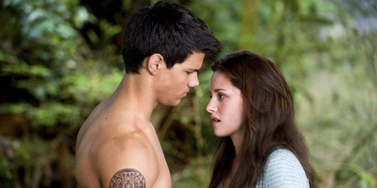Jacob and Bella in Twilight: New Moon