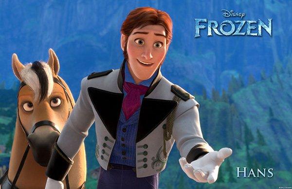 Frozen Character Poster Hans