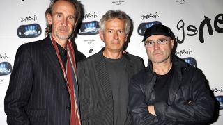 Mike Rutherford, Tony Banks and Phil Collins in 2007