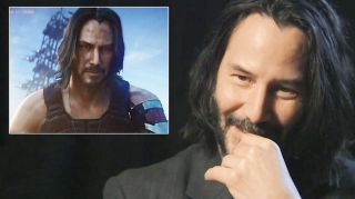 Keanu can't believe what Cyberpunk modders have been up to.