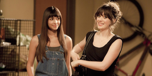 Jess and Cece in the loft