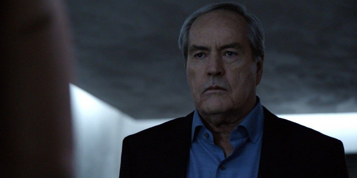 Powers Boothe as Gideon Malick on Agents of S.H.I.E.L.D. (2016)