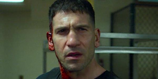 the punisher bleeding from ear
