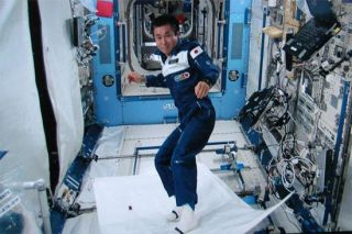 Japanese Space Underwear Keeps Stink Out